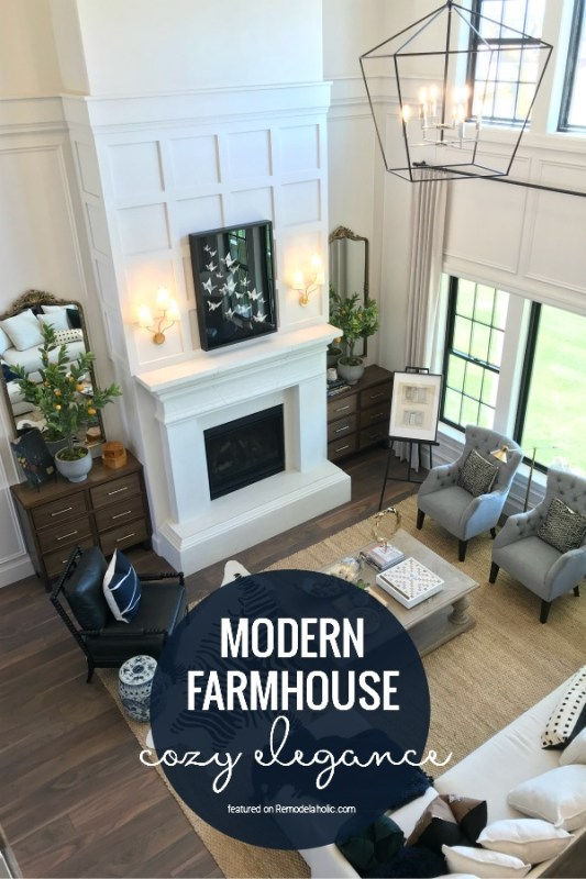 Create Cozy Elegance With Modern Farmhouse Style, Arive Homes And Brandalyn Dennis Interior Design, 2018 Utah Valley Parade Of Homes, Featured On Remodelaholic