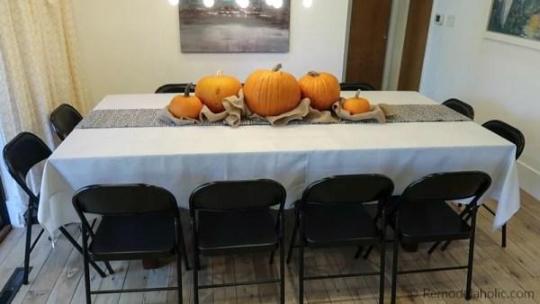 Hack A Bigger Dining Table For Thanksgiving Under $50 @Remodelaholic 10