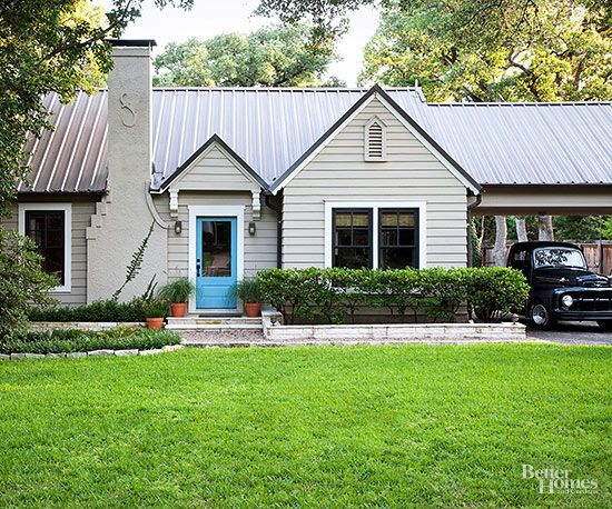 50's Ranch-Style Home Curb Appeal Update Inspiration