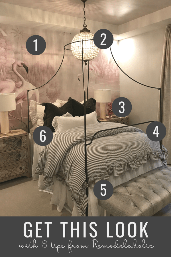 Remodelaholic Get This Look Modern Teen Girl's Bedroom