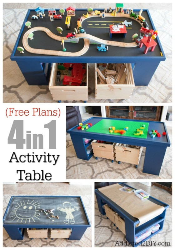 4 In 1 Activity Table