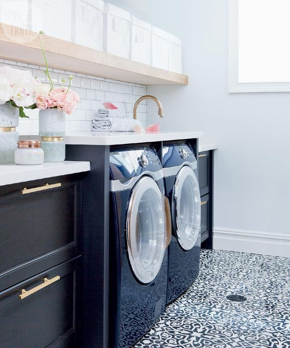 Lovely Real Life Laundry Room Ideas