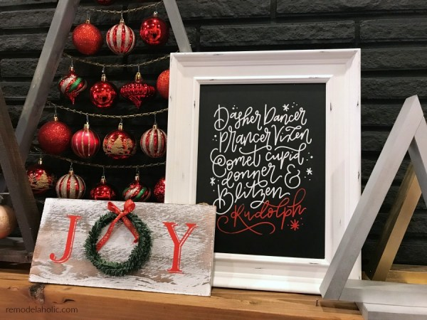 Simple And Fast DIY Chalkboard Signs For Christmas Holidays Welcome Host Gifts Remodelaholic
