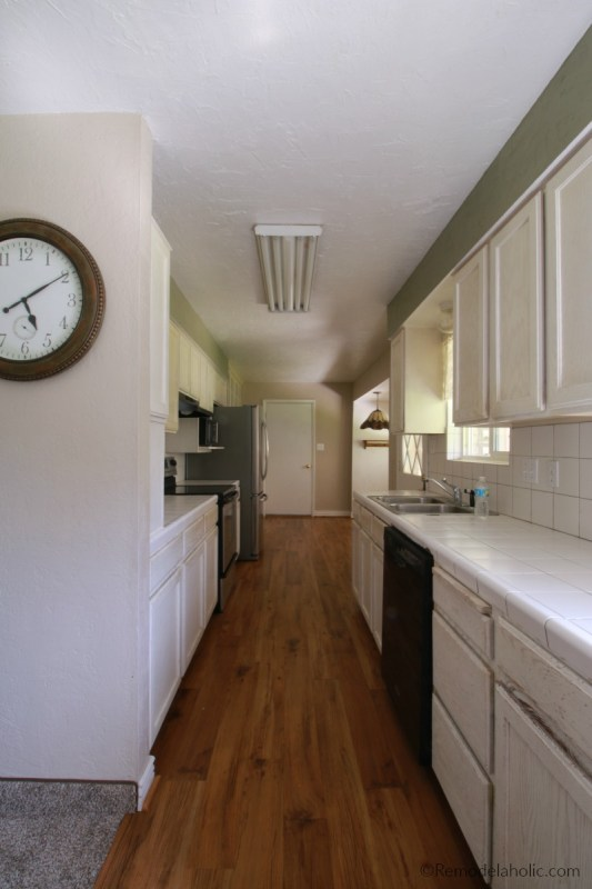 The Jordan House Galley Kitchen Before 1970s Renovation And Remodel BEFORE House Tour #remodelaholic