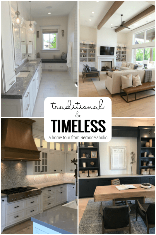 Remodelaholic Home Tour Custom Timeless And Traditional Home Style