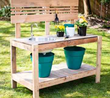 Diy Potting Bench Final Square