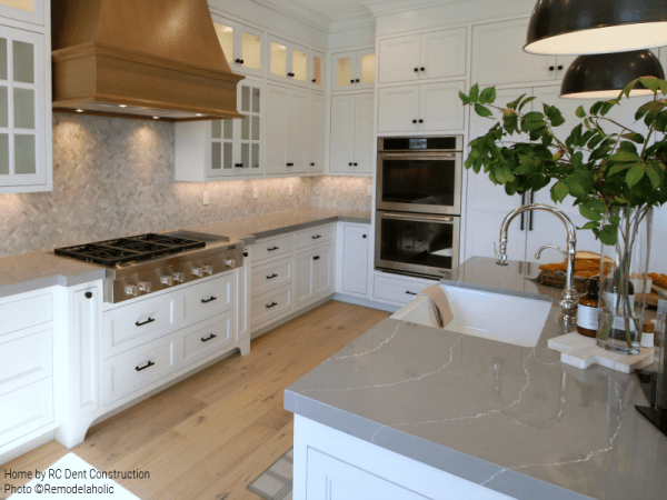 Remodelaholic | Get This Look: Traditional Farmhouse Kitchen on Farmhouse Counter Tops  id=83110