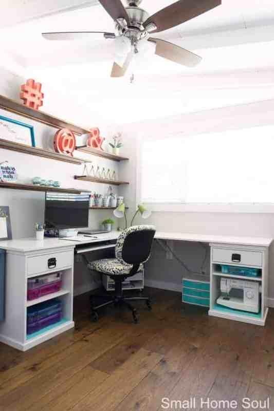 Office Makeover Reveal 03 Desk