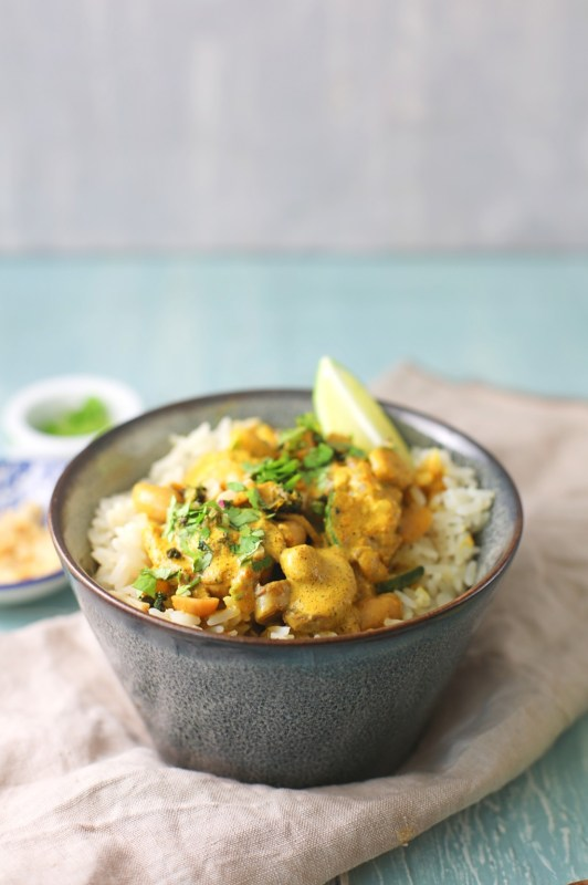 Vegetarian Curry in 20 Minutes.