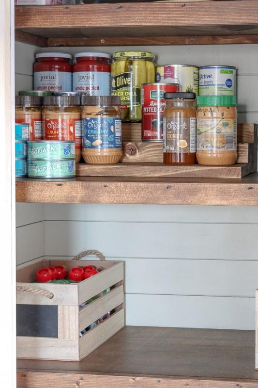 Living Letter Home Diy Pantry Can Storage Setup Shelf
