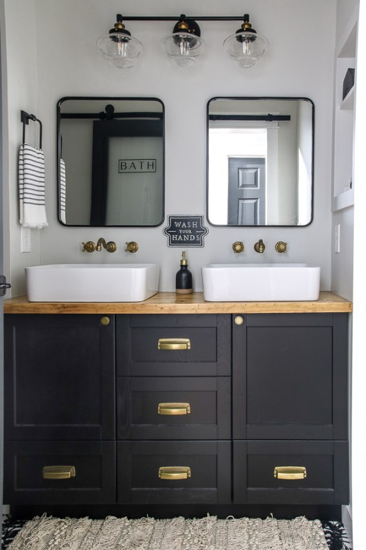 Living Letter Home Guest Bathroom Reveal