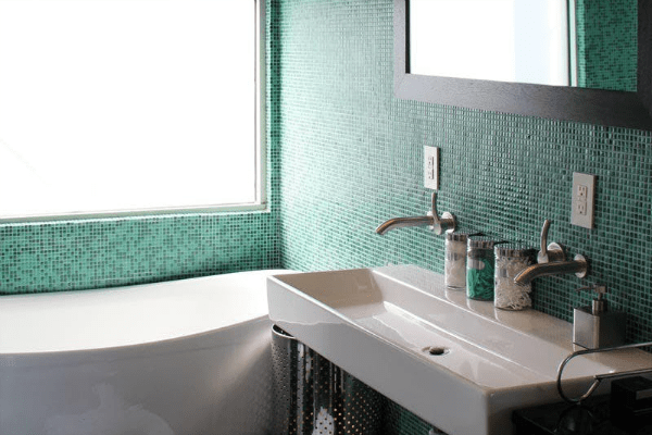 Jade Green Bathroom Tile