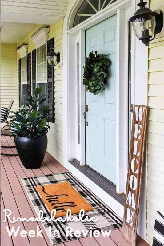 25 Curb Appeal Ideas + Beautiful Porch And Patio Decor