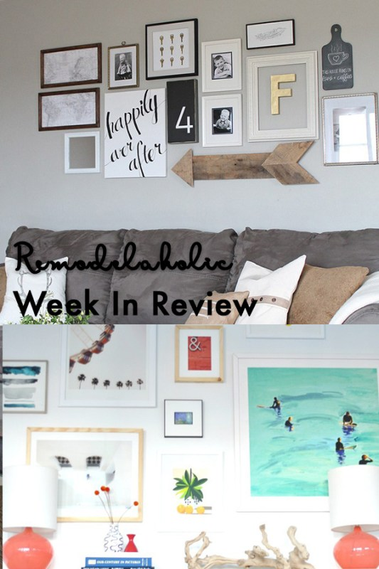 Tips For Creating A Modern Balanced Gallery Wall