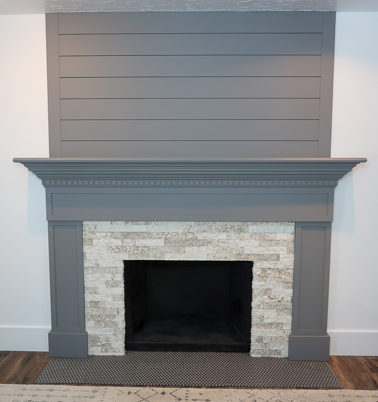 DIY Fireplace Makeover AirStone 3