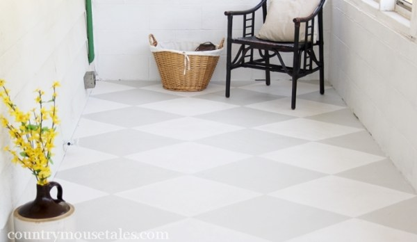 Painted Concrete Flooring