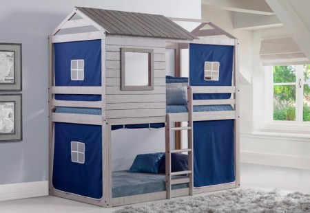 Diaz Twin Bunk Bed At Wayfair Featured On Remodelaholic.com