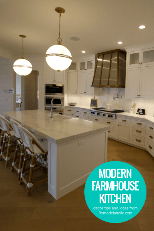 How To Design A Modern Farmhouse Kitchen, Decor Ideas And Tips From Remodelaholic