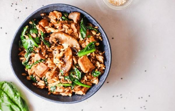 Ginger Chicken Fried Rice