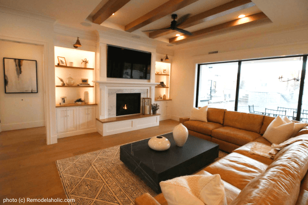 Neutral Modern Farmhouse Living Room Design Tips