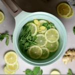 How To Make Stovetop Potpourri For Spring, Lemon Mint Natural Air Freshener, Remodelaholic