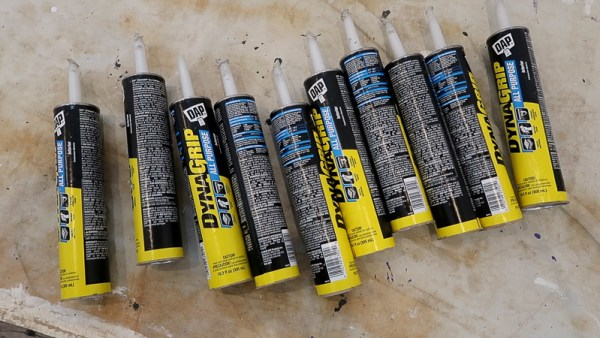Installing Whitewashed Boards On Basement Ceiling DAP DYNAGRIP