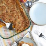 Peach Dump Cake, Cheater Peach Cobbler Recipe
