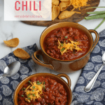 Easy And Fast Slow Cooker Chili Recipe From Remodelaholic
