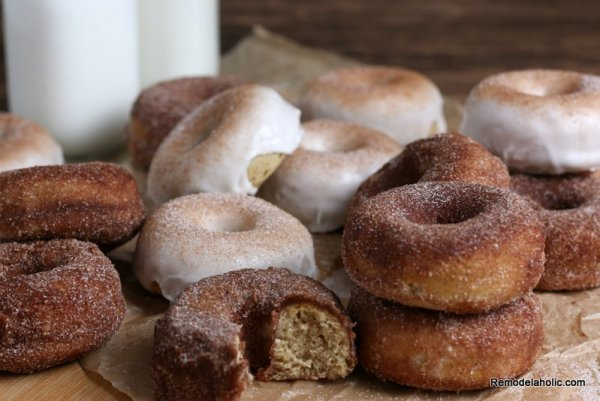 Apple Cider Donuts For Fall Baking, Recipe Remodelaholic