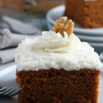 Best Ever Pumpkin Cake Recipe From Scratch With Cream Cheese Frosting, Remodelaholic