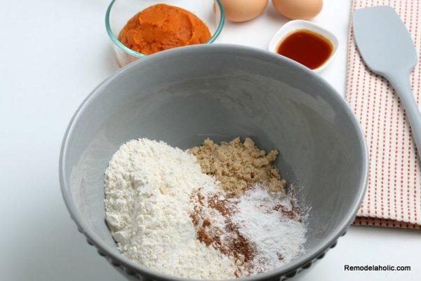 Homemade Pumpkin Pancakes Recipe, Remodelaholic (1)