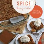Pumpkin Dump Cake, Pumpkin Spice Cake With Pecan Topping, Remodelaholic