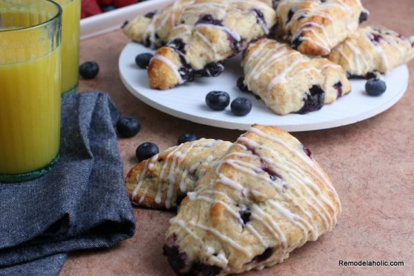 Blueberry Scones Recipe From Remodelaholic (2)