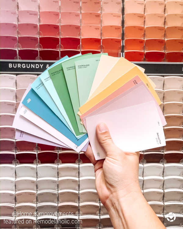 How To Paint A Rainbow Accent Wall With Shiplap Boards For A Kids Bedroom, Home Kimprovements For Remodelaholic