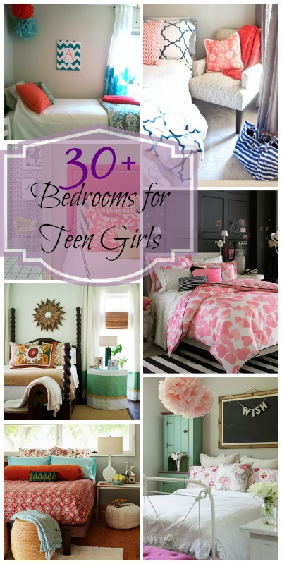 Remodelaholic   Sweet As Sugar Girl's Room Design Ideas ... on Teenager:_L_Breseofm= Bedroom Ideas  id=68339