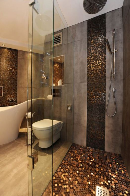 metallic-tiles-bath