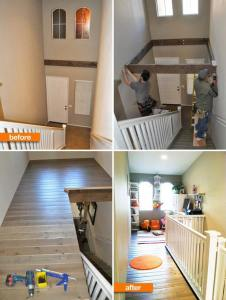 Playroom above the staircase