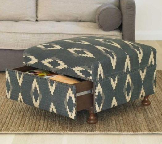 patterned-ottoman-with-storage-drawer