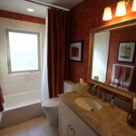 The girls' bathroom make-over: Asian warmth to fairy tail charm