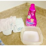 Our DIY re-usable dryer sheets