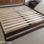 DIY King-Sized Modern Platform Bed