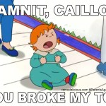 The Day Caillou Broke the Internet