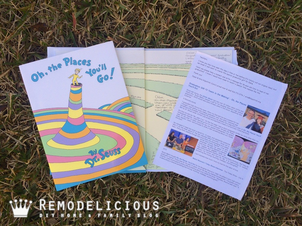 image about Oh the Places You'll Go Printable Template referred to as Oh! the Locations Youll Transfer! E book of Reminiscences Remodelicious