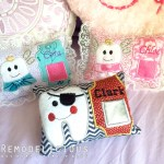 In-the-Hoop DIY Embroidered Tooth Fairy Pillows