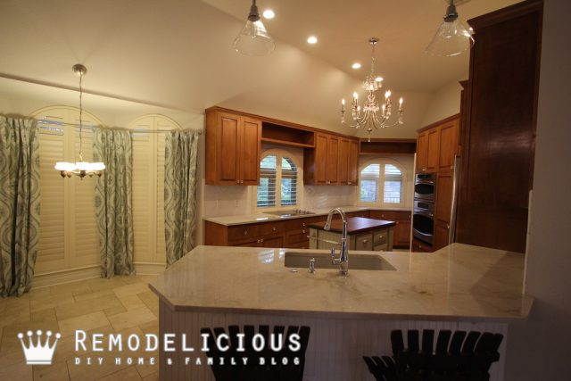 Remodelicious White Kitchen Make-Over | Remodelicious.com