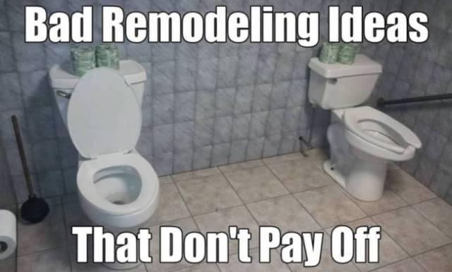 Double toilet bathroom