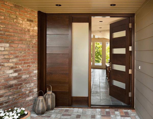 Wooden Front Door Designs Houses