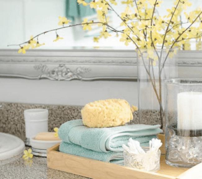 Ceramic and Glass Bathroom Decor Accessories