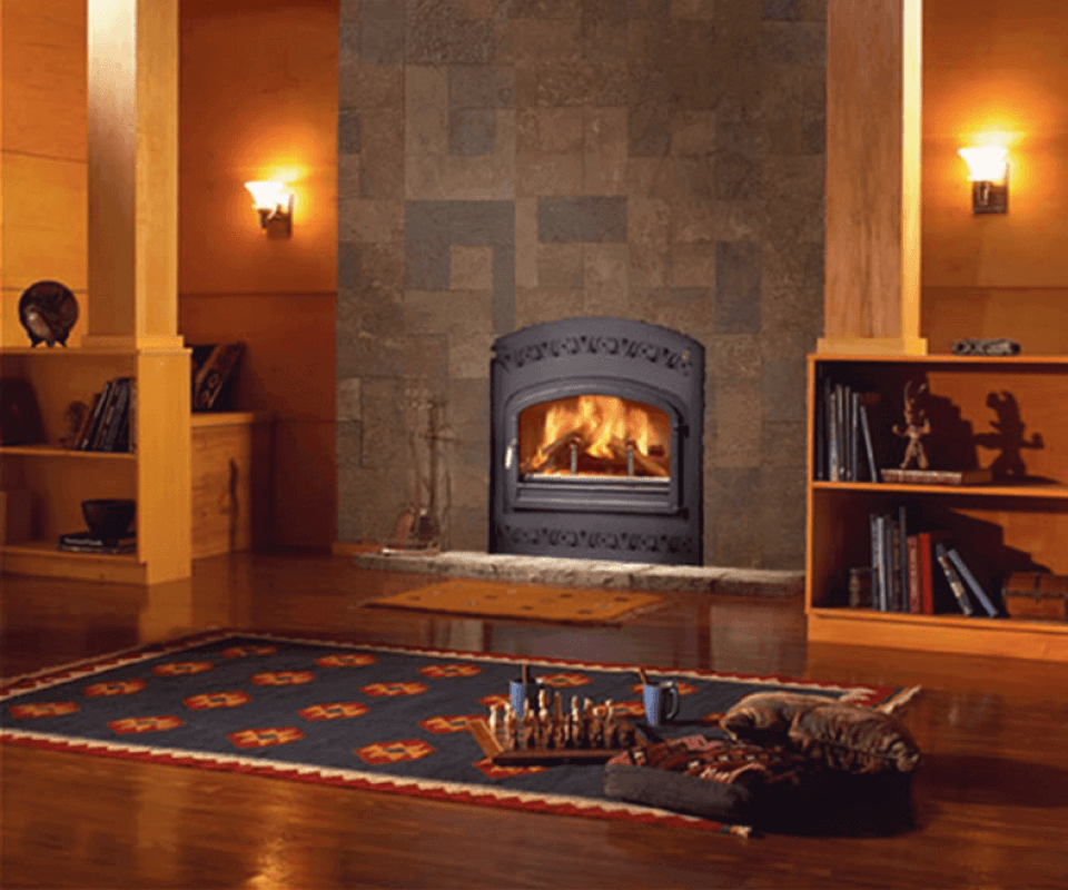 Cork Flooring in a Rustic Style Living RoomCork Flooring in a Rustic Style Living Room
