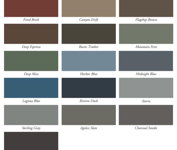 Alside Board and Batten Siding - Architectural Colors